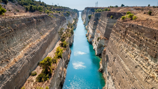 Athens and Corinth Canal